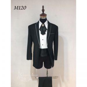 黑色型格男士禮服 M120
