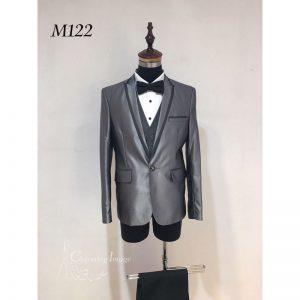 灰色時尚男士禮服 M122