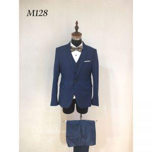 寶藍色時尚男士禮服 M128